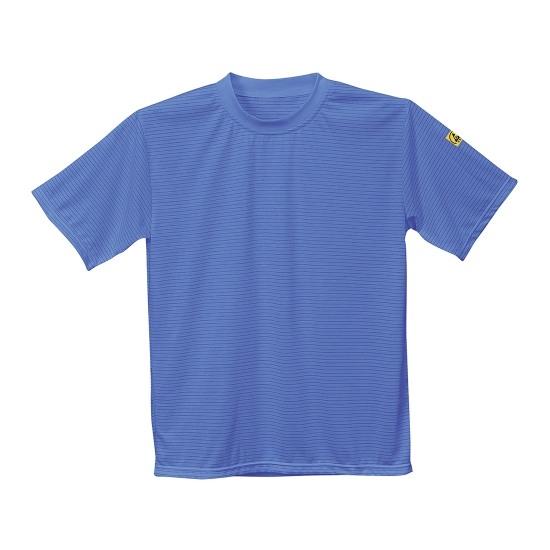 ESD T-SHIRT PORTWEST AS20 HOSPITAL BLUE T shirt