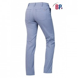 KOKSBROEK BAKKERSBROEK BP 1734 930 19 BLAUW WIT RUIT