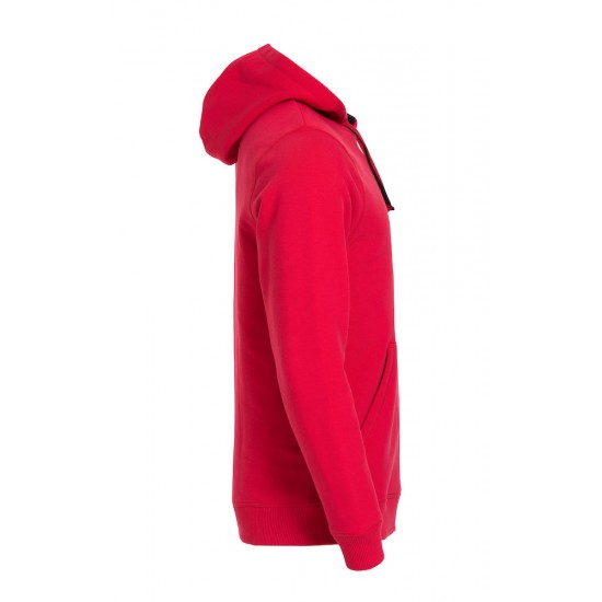 SWEATER CLIQUE 021041 35 CLASSIC HOODY ROOD Sweaters  & Truien