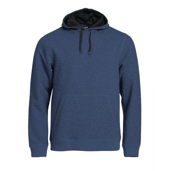 SWEATER CLIQUE 021041 565 CLASSIC HOODY BLAUWMELANGE Sweaters  & Truien