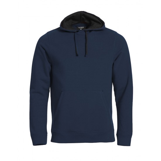 SWEATER CLIQUE 021041 580 CLASSIC HOODY NAVY Sweaters  & Truien