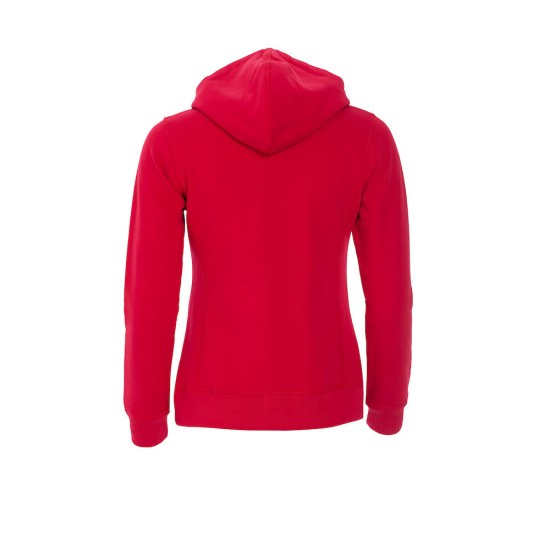 SWEATER CLIQUE 021042 35 CLASSIC HOODY LADIES ROOD Sweaters  & Truien