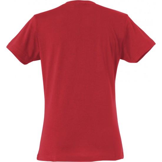 T-SHIRT CLIQUE BASIC T LADIES 029031 35 ROOD T shirt
