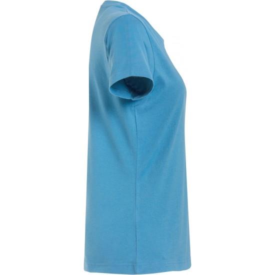 T-SHIRT CLIQUE BASIC T LADIES 029031 54 TURQUOISE T shirt