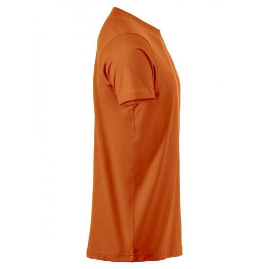 T-SHRT CLIQUE PREMIUM-T 029340 18 DIEP ORANJE T shirt