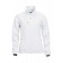 SOFTSHELL CLIQUE BASIC DAMES 020915 00 WIT