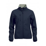 SOFTSHELL CLIQUE BASIC DAMES 020915 580 NAVY