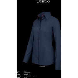 BLOUSE GIOVANNI CAPRARO DAMES 29317 85 NAVY AFZ ROOD