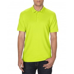 POLOSHIRT GILDAN DRYBLEND DOUBLE PIQUE 75800 SAFETY GREEN