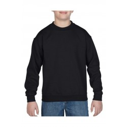 SWEATER GILDAN CREWNECK HEAVYBLEND FOR KIDS 18000B ZWART
