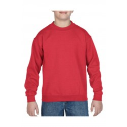 SWEATER GILDAN CREWNECK HEAVYBLEND FOR KIDS 18000B ROOD