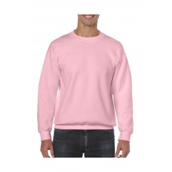 SWEATER GILDAN CREWNECK HEAVYBLEND 18000 LIGHT  PINK