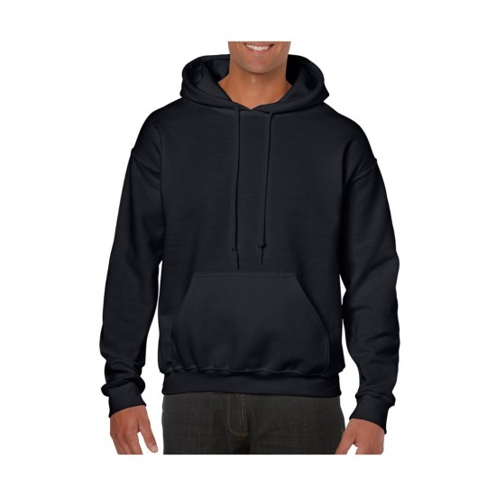 SWEATER GILDAN HOODED HEAVYBLEND 18500 ZWART Sweaters