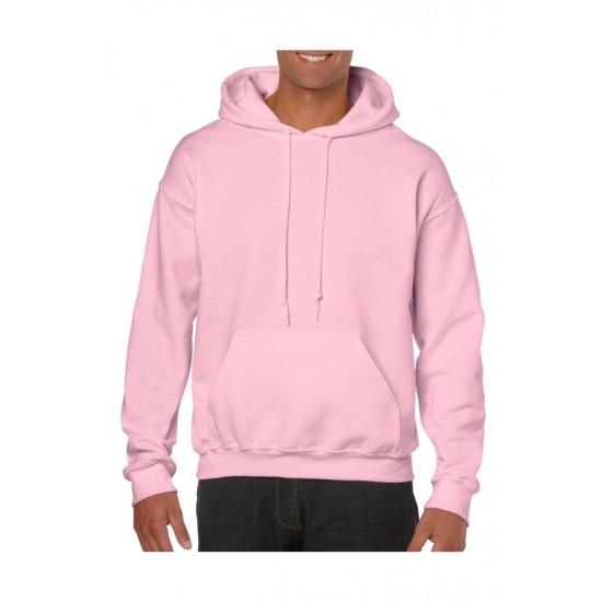 SWEATER GILDAN HOODED HEAVYBLEND 18500 LIGHT  PINK  Sweaters