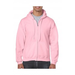 VEST GILDAN HOODED HEAVYBLEND 18600 LIGHT  PINK