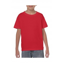 T-SHIRT GILDAN 5000B ROOD FOR KIDS