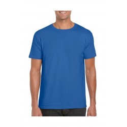 T-SHIRT GILDAN 64000 ROYAL BLUE SOFTSTYLE