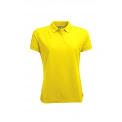 POLOSHIRT L&S BASIC PIQUE SS FOR HER 3535 YELLOW
