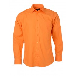 BLOUSE JAMES & NICHOLSON JN678 ORANJE