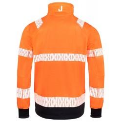 JACK JOBMAN 65119055 3199 FLUOR ORANJE HI VIS WINDBLOCKER JACKET