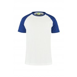 T-SHIRT LEMON & SODA 1175 WHITE ROYALBLUE