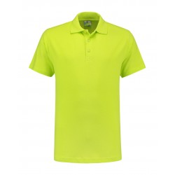 POLOSHIRT L&S BASIC SS FOR HIM 3540 LIME
