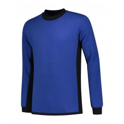 SWEATER L&S WORKWEAR 4750 ROYALBLUE BLACK