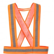 BAND PORTWEST HI VIS BAND HV55 FLUOR ORANJE