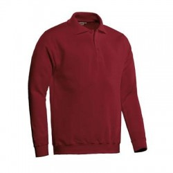 POLOSWEATER SANTINO ROBIN BORDEAUX