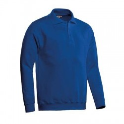 POLOSWEATER SANTINO ROBIN ROYALBLUE