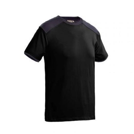T-SHIRT SANTINO TIESTO ZWART-GRAFIET T shirt