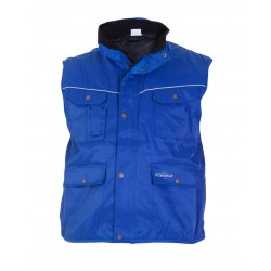 BODYWARMER 049468 TEXOWEAR DELHI BEAVERLINE ROYALBLUE