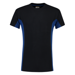 T-SHIRT TRICORP BICOLOR 102002 TT2000 NAVY MET ROYALBLUE