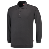 POLOSWEATER MET BOORD TRICORP 301005 PSB280 DONKERGRIJS
