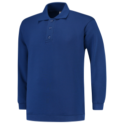 POLOSWEATER MET BOORD TRICORP 301005 PSB280 ROYALBLUE
