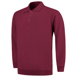 POLOSWEATER MET BOORD TRICORP 301005 PSB280 WIJNROOD