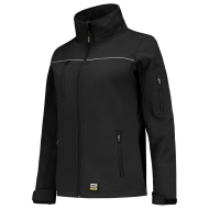 DAMES SOFTSHELL TRICORP LUXE 402009 ZWART