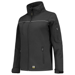 DAMES SOFTSHELL TRICORP LUXE 402009 GRIJS