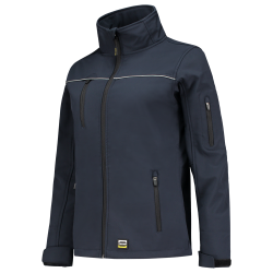DAMES SOFTSHELL TRICORP LUXE 402009 NAVY