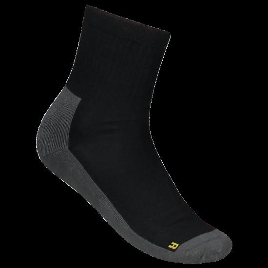 SOKKEN TRICORP 602008 TSD8000 ZWART-GRIJS  (per 2 paar) Sokken