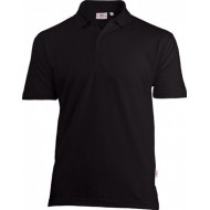 POLOSHIRT UNIWEAR BPU BLACK JANSSEN DISTRIBUTION SERVICES