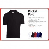 POLOSHIRT UNIWEAR PPU ROYAL BLUE