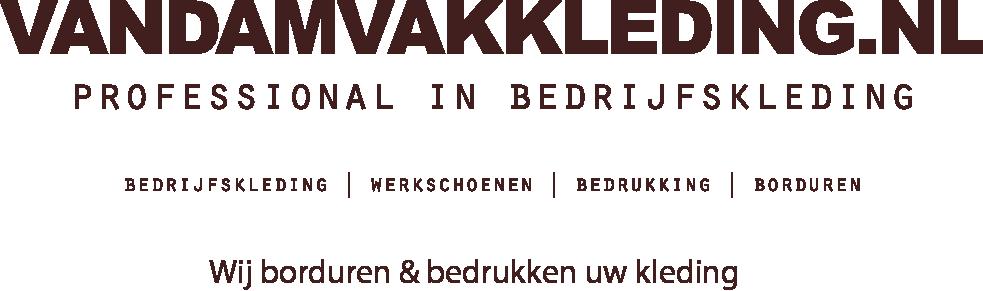 vandamvakkleding.nl | werkschoenen | bedrijfskleding met logo | geborduurd | bedrukt