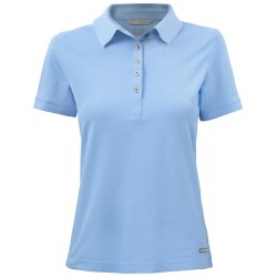 POLOSHIRT CUTTER EN BUCK ADVANTAGE LADIES 354419 509 LICHTBLAUW