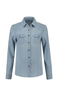 . L&S DENIM SHIRT FOR HER .