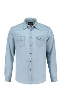 . L&S Shirt Denim LS for him .