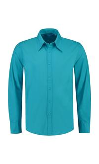 . L&S poplin shirt LM for HIM .